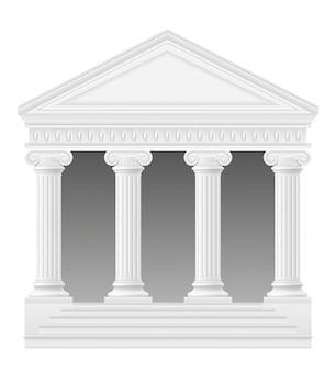 アンティークアーチ株式ベクトル図