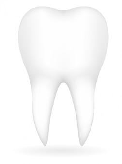 Зуб векторная иллюстрация