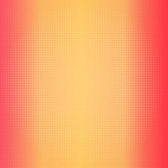 ハーフトーンドットと暖色系のグラデーションの背景