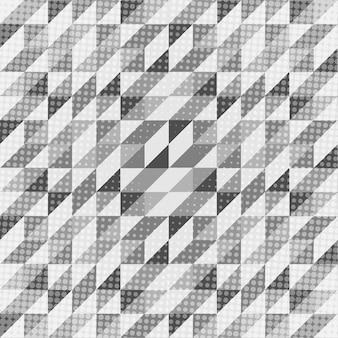 黒と白の幾何学的スカンジナビアパターン