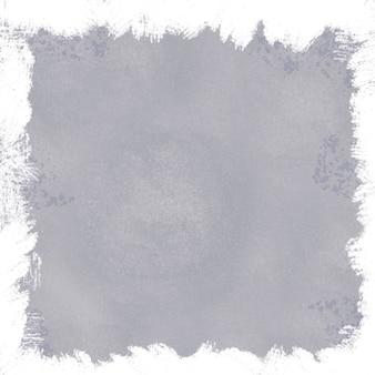 白い境界線を持つ灰色のグランジ背景