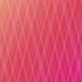 レッド菱形の背景