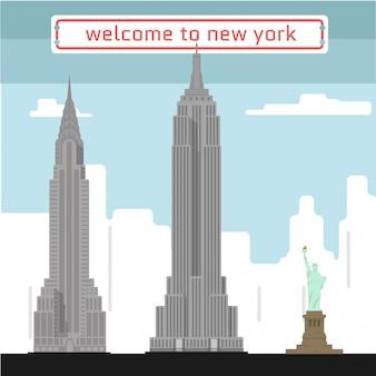Добро пожаловать в нью-йорк