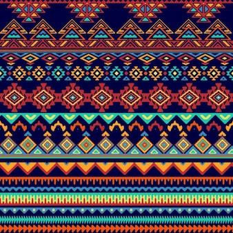 部族スタイルでパターン
