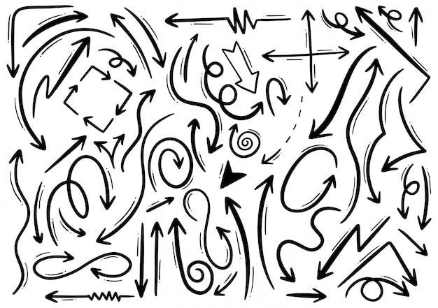 Рисованной стрелки