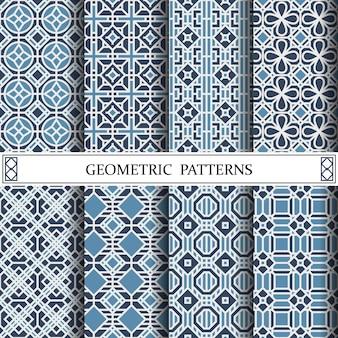 八角形幾何ベクトルパターン