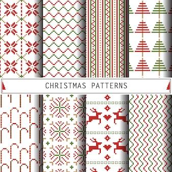 クリスマスのパターン