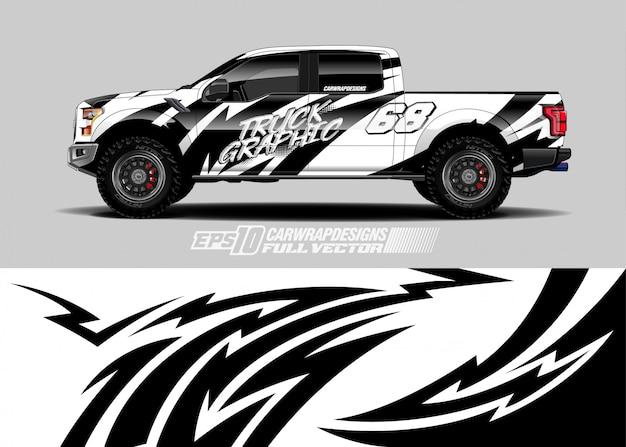 Дизайн наклеек для гоночных автомобилей