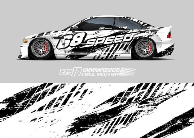 Иллюстрация ливреи автомобилей