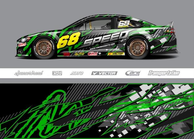 Дизайн ливреи гоночной машины