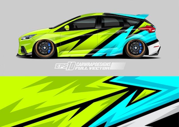 Дизайн ливреи автомобиля