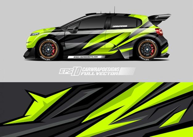 Дизайн ливреи автомобилей