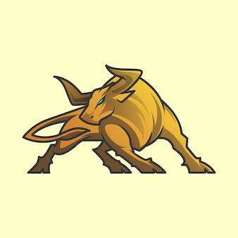 Логотип быка