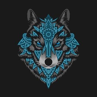 夜のオオカミ