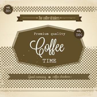 レトロなコーヒーポスター