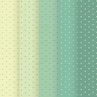 点線パターン、半音階