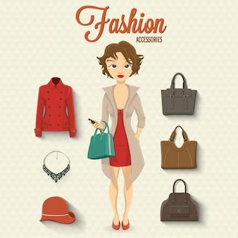 Дизайн мода аксессуары