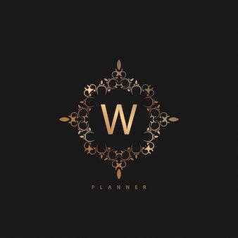 Логотип премиум люкс