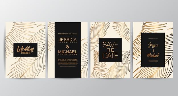 Свадебные приглашения премиум класса люкс