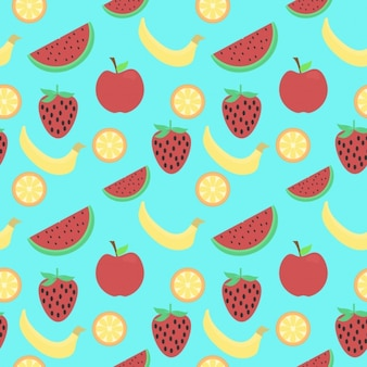 健康的なフルーツのパターン