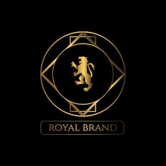 高級ライオンロゴ