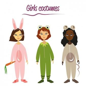 女の子の衣装