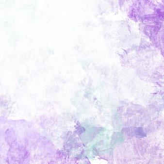 パープル水彩画の背景