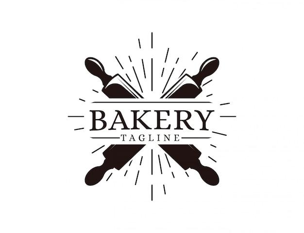 パン屋さんのロゴのテンプレート