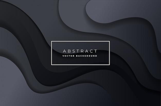 抽象的な動的背景ベクトル