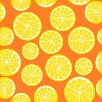 Лимонный узор