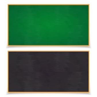 黒板は、白で隔離の影入り。教育委員会