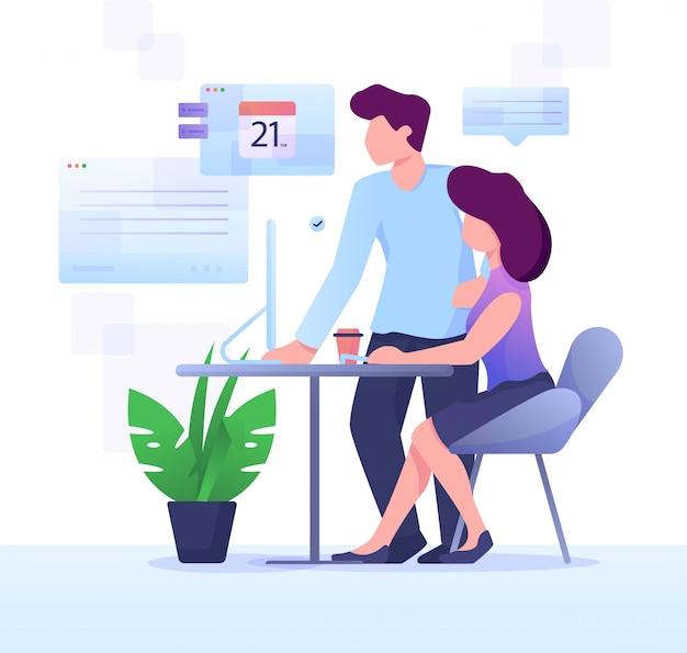 Проверка расписания партнера
