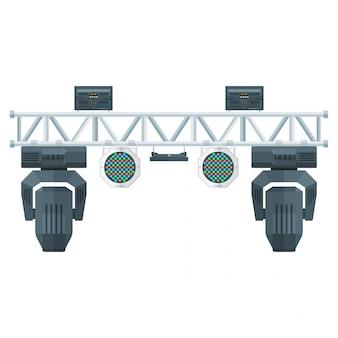 Сценическое световое оборудование для концертных площадок