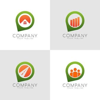 Логотип булавки