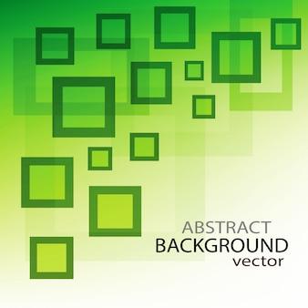 緑色の四角形の背景