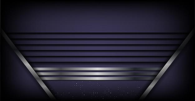 重複レイヤーの背景を持つ抽象的な高級パープル