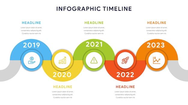 Инфографические элементы для шагов, графика, рабочего процесса
