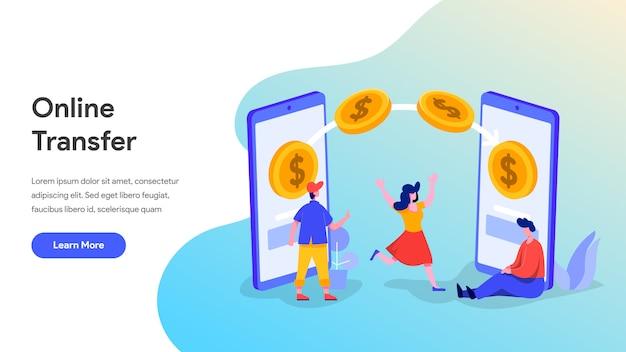 Онлайн перевод денег с мобильного телефона