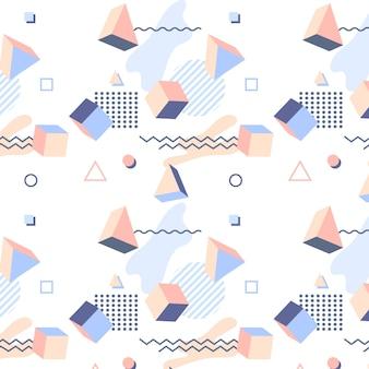 抽象メンフィスパターン