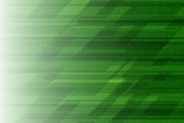 緑の色のモダンなデザインの幾何学的要素のベクトルの抽象的な背景