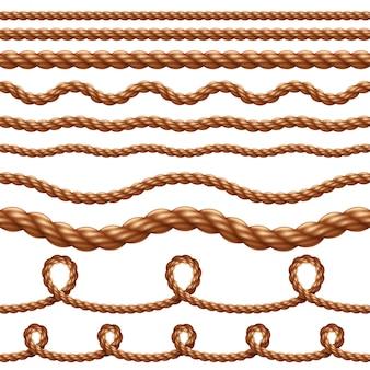 シームレスパターンロープ