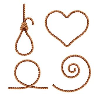 ロープのコレクション