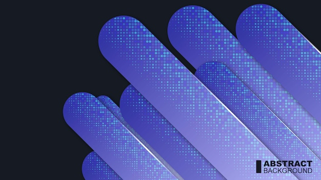 現代の青の抽象的な背景