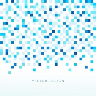 青色の小さな正方形の背景