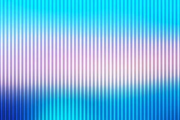 背景がぼやけている光のラインと青の色合いピンク抽象