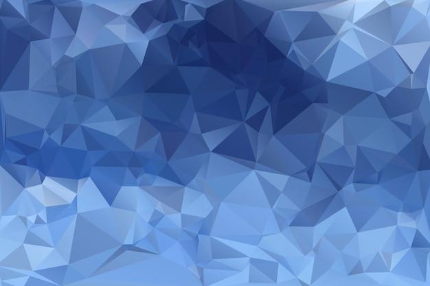 青の低ポリ