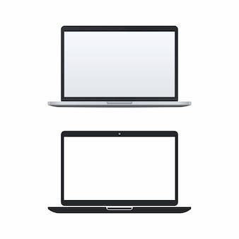 ノートパソコンのベクトルのアイコン