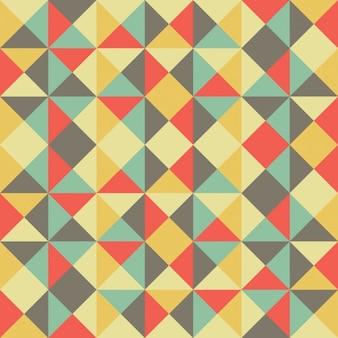 幾何学的形状とカラー背景