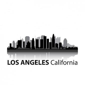 ロサンゼルスのスカイラインのデザイン