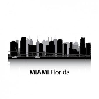 マイアミのスカイラインのデザイン